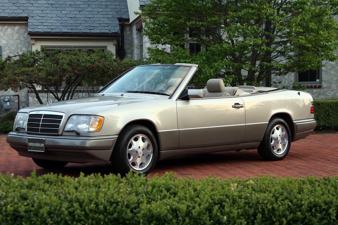 Memory motors 1994 mercedes benz e320 cabriolet for Mercedes benz e320 1994